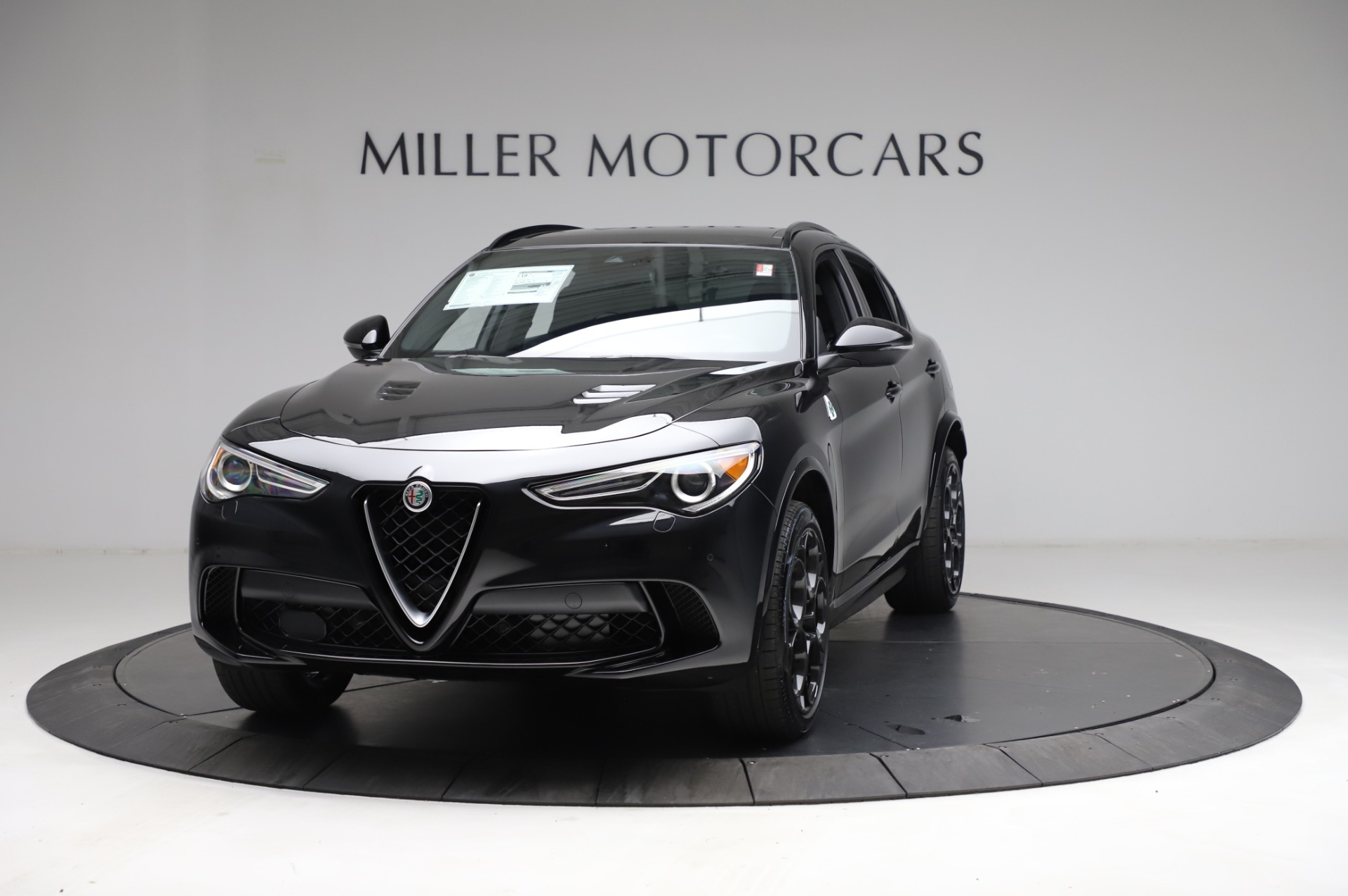 New 2021 Alfa Romeo Stelvio Quadrifoglio for sale $90,450 at Rolls-Royce Motor Cars Greenwich in Greenwich CT 06830 1