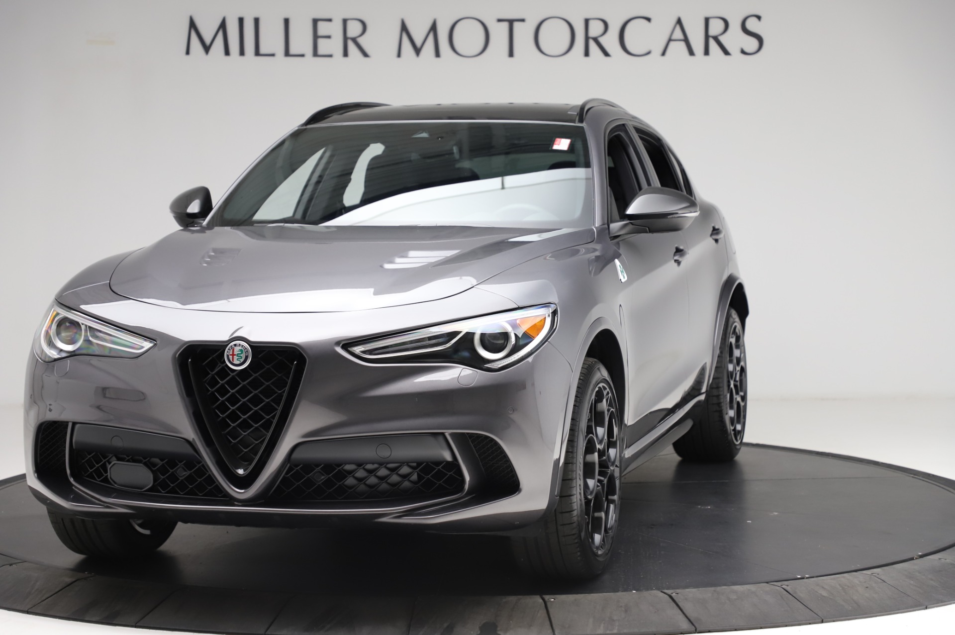 New 2021 Alfa Romeo Stelvio Quadrifoglio for sale $91,750 at Rolls-Royce Motor Cars Greenwich in Greenwich CT 06830 1