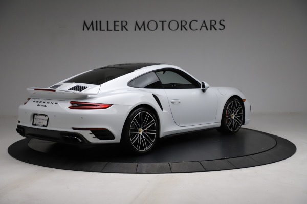 Used 2018 Porsche 911 Turbo for sale $159,990 at Rolls-Royce Motor Cars Greenwich in Greenwich CT 06830 10