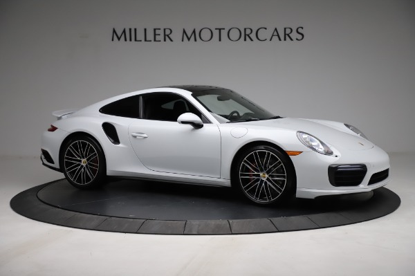 Used 2018 Porsche 911 Turbo for sale $159,990 at Rolls-Royce Motor Cars Greenwich in Greenwich CT 06830 13