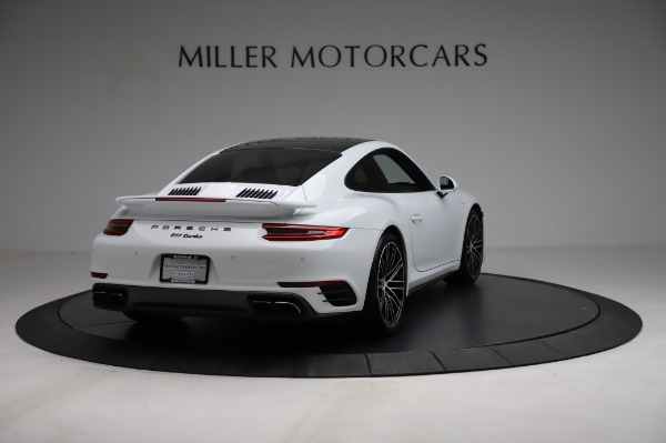 Used 2018 Porsche 911 Turbo for sale $159,990 at Rolls-Royce Motor Cars Greenwich in Greenwich CT 06830 9