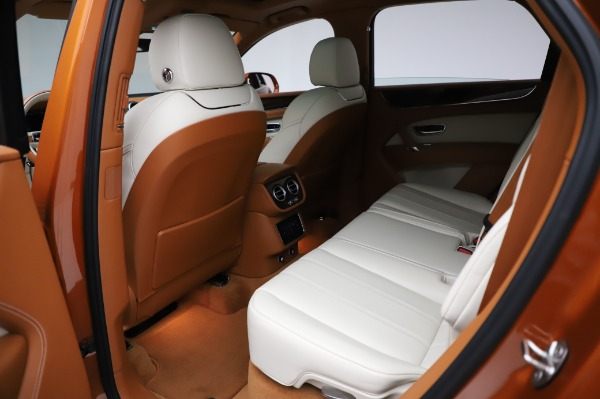 Used 2018 Bentley Bentayga Onyx Edition for sale $149,900 at Rolls-Royce Motor Cars Greenwich in Greenwich CT 06830 21