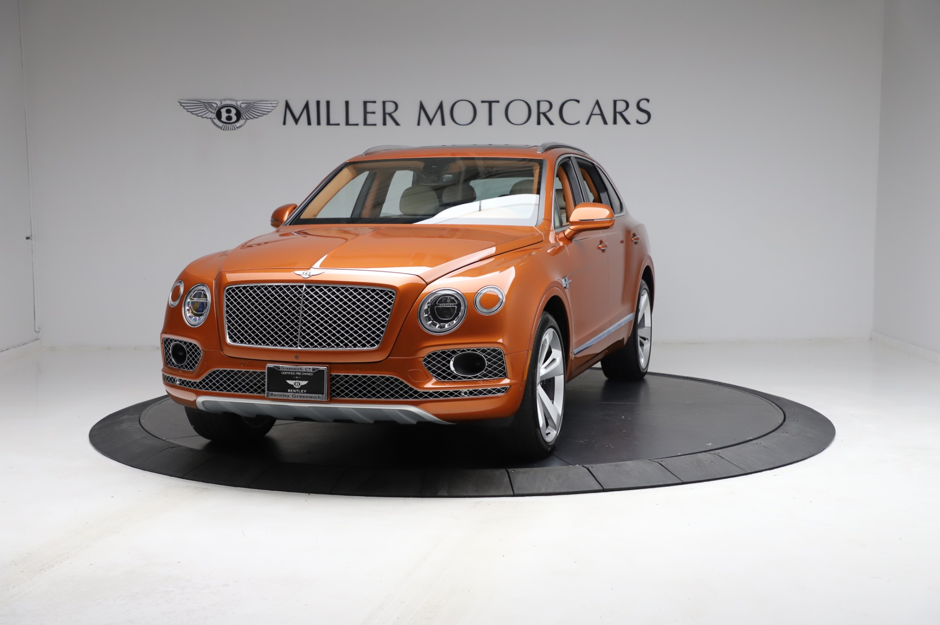 Used 2018 Bentley Bentayga Onyx Edition for sale $149,900 at Rolls-Royce Motor Cars Greenwich in Greenwich CT 06830 1