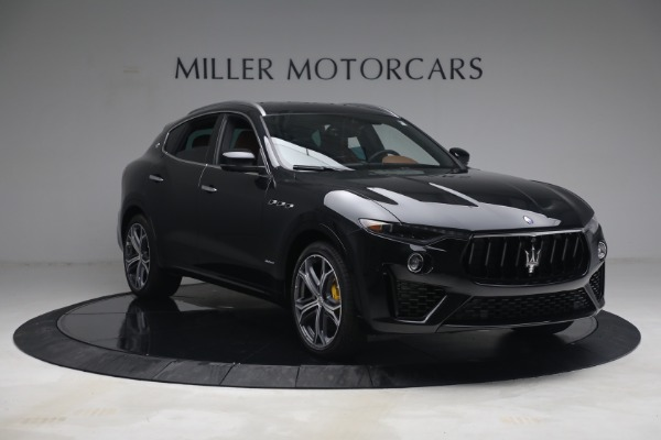 New 2021 Maserati Levante S Q4 GranSport for sale Call for price at Rolls-Royce Motor Cars Greenwich in Greenwich CT 06830 11
