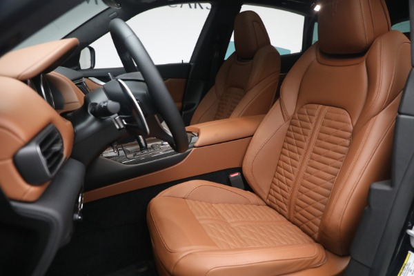 New 2021 Maserati Levante S Q4 GranSport for sale Call for price at Rolls-Royce Motor Cars Greenwich in Greenwich CT 06830 17