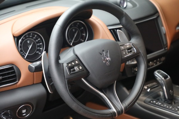 New 2021 Maserati Levante S Q4 GranSport for sale Call for price at Rolls-Royce Motor Cars Greenwich in Greenwich CT 06830 19