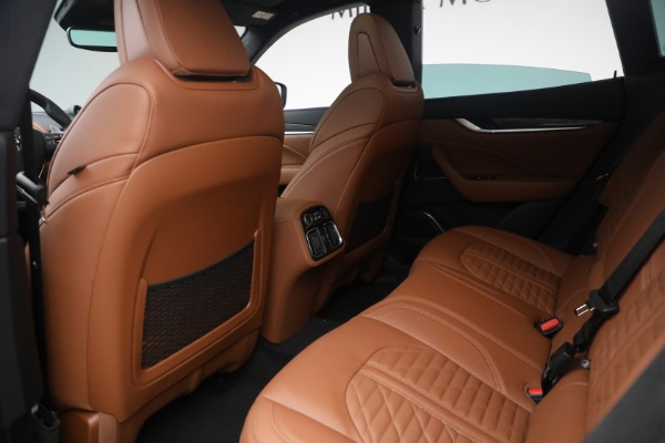 New 2021 Maserati Levante S Q4 GranSport for sale Call for price at Rolls-Royce Motor Cars Greenwich in Greenwich CT 06830 25