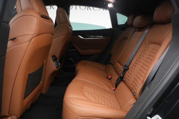 New 2021 Maserati Levante S Q4 GranSport for sale Call for price at Rolls-Royce Motor Cars Greenwich in Greenwich CT 06830 26