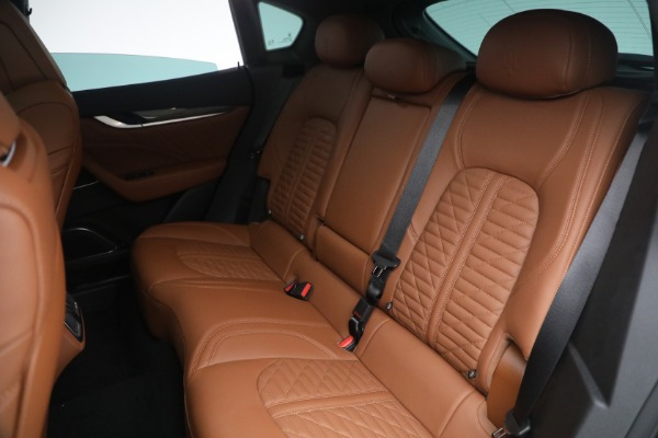 New 2021 Maserati Levante S Q4 GranSport for sale Call for price at Rolls-Royce Motor Cars Greenwich in Greenwich CT 06830 27