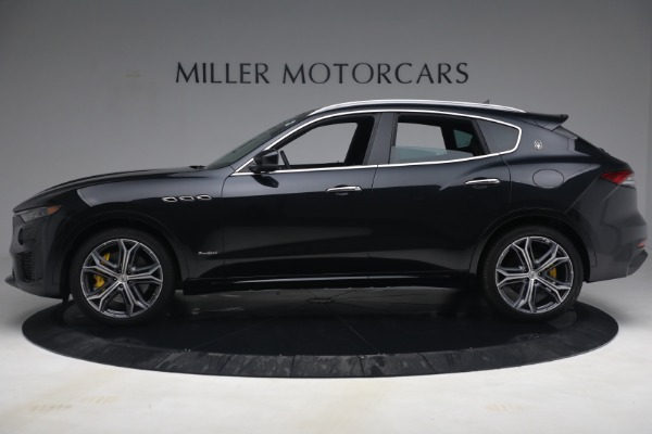 New 2021 Maserati Levante S Q4 GranSport for sale Call for price at Rolls-Royce Motor Cars Greenwich in Greenwich CT 06830 3