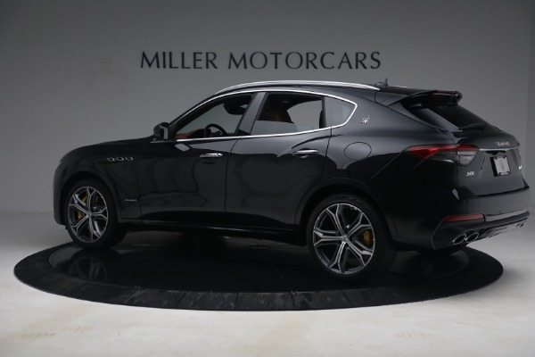 New 2021 Maserati Levante S Q4 GranSport for sale Call for price at Rolls-Royce Motor Cars Greenwich in Greenwich CT 06830 4