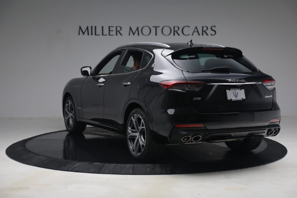 New 2021 Maserati Levante S Q4 GranSport for sale Call for price at Rolls-Royce Motor Cars Greenwich in Greenwich CT 06830 5