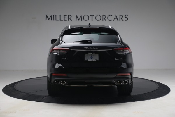 New 2021 Maserati Levante S Q4 GranSport for sale Call for price at Rolls-Royce Motor Cars Greenwich in Greenwich CT 06830 6