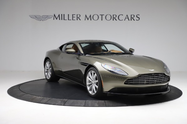 Used 2018 Aston Martin DB11 V8 for sale $151,900 at Rolls-Royce Motor Cars Greenwich in Greenwich CT 06830 10