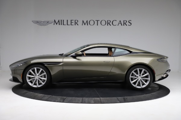 Used 2018 Aston Martin DB11 V8 for sale $151,900 at Rolls-Royce Motor Cars Greenwich in Greenwich CT 06830 2