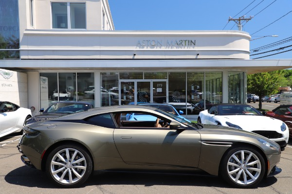 Used 2018 Aston Martin DB11 V8 for sale $151,900 at Rolls-Royce Motor Cars Greenwich in Greenwich CT 06830 22
