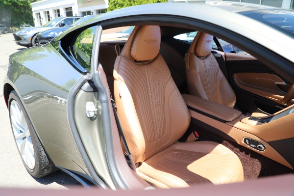 Used 2018 Aston Martin DB11 V8 for sale $151,900 at Rolls-Royce Motor Cars Greenwich in Greenwich CT 06830 23