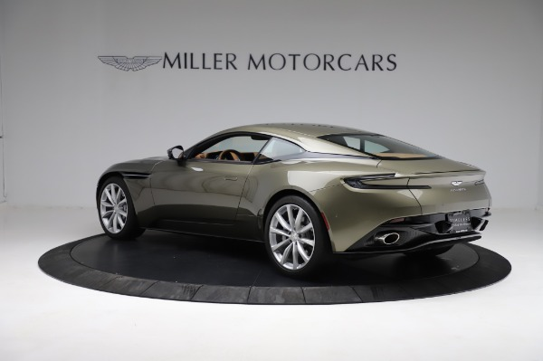 Used 2018 Aston Martin DB11 V8 for sale $151,900 at Rolls-Royce Motor Cars Greenwich in Greenwich CT 06830 3