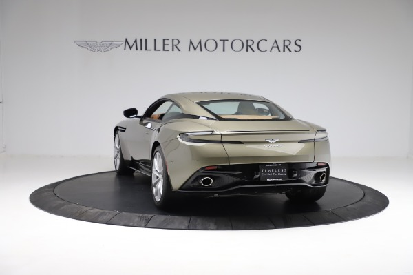 Used 2018 Aston Martin DB11 V8 for sale $151,900 at Rolls-Royce Motor Cars Greenwich in Greenwich CT 06830 4
