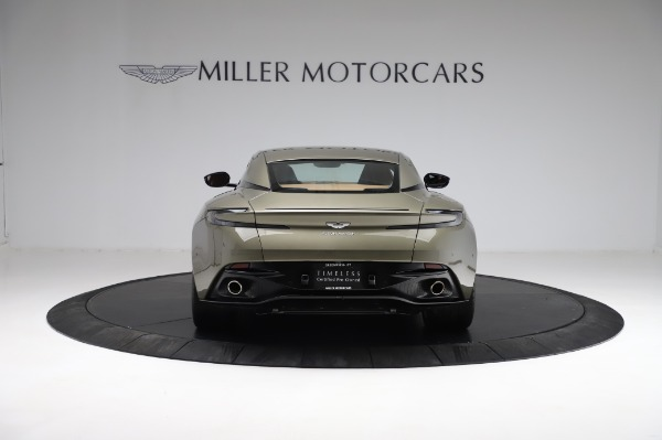 Used 2018 Aston Martin DB11 V8 for sale $151,900 at Rolls-Royce Motor Cars Greenwich in Greenwich CT 06830 5