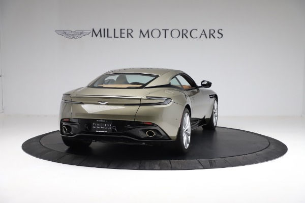 Used 2018 Aston Martin DB11 V8 for sale $151,900 at Rolls-Royce Motor Cars Greenwich in Greenwich CT 06830 6