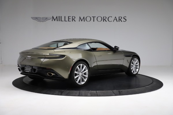 Used 2018 Aston Martin DB11 V8 for sale $151,900 at Rolls-Royce Motor Cars Greenwich in Greenwich CT 06830 7