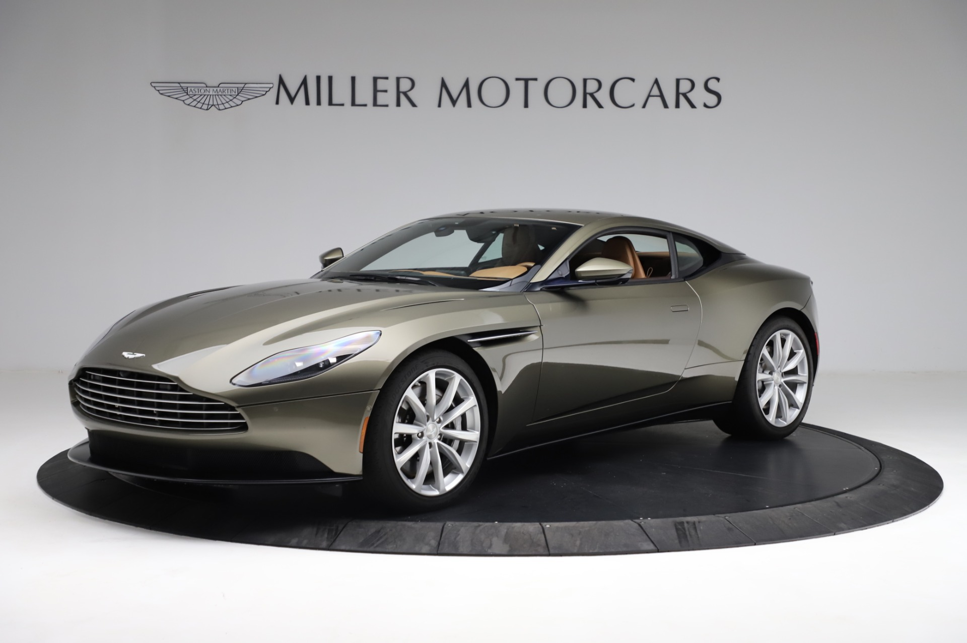 Used 2018 Aston Martin DB11 V8 for sale $151,900 at Rolls-Royce Motor Cars Greenwich in Greenwich CT 06830 1