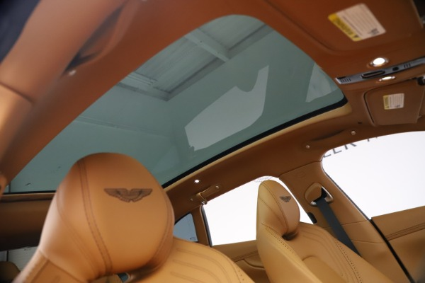 New 2021 Aston Martin DBX for sale $207,886 at Rolls-Royce Motor Cars Greenwich in Greenwich CT 06830 22