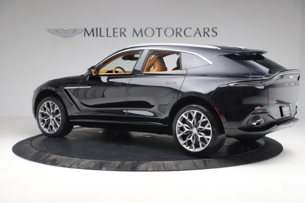 New 2021 Aston Martin DBX for sale $207,886 at Rolls-Royce Motor Cars Greenwich in Greenwich CT 06830 3