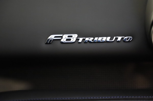 Used 2020 Ferrari F8 Tributo for sale $349,900 at Rolls-Royce Motor Cars Greenwich in Greenwich CT 06830 21