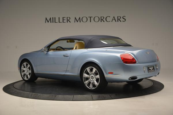 Used 2007 Bentley Continental GTC for sale Sold at Rolls-Royce Motor Cars Greenwich in Greenwich CT 06830 16