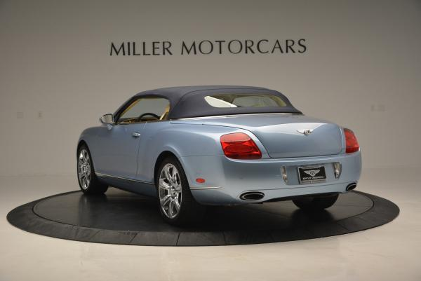 Used 2007 Bentley Continental GTC for sale Sold at Rolls-Royce Motor Cars Greenwich in Greenwich CT 06830 17