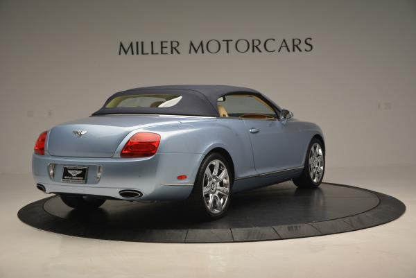 Used 2007 Bentley Continental GTC for sale Sold at Rolls-Royce Motor Cars Greenwich in Greenwich CT 06830 19