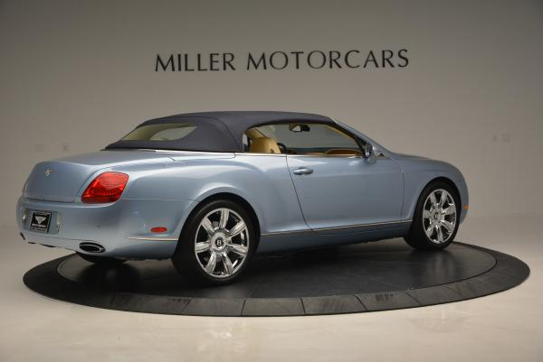 Used 2007 Bentley Continental GTC for sale Sold at Rolls-Royce Motor Cars Greenwich in Greenwich CT 06830 20