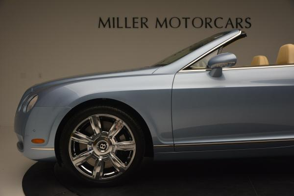 Used 2007 Bentley Continental GTC for sale Sold at Rolls-Royce Motor Cars Greenwich in Greenwich CT 06830 28
