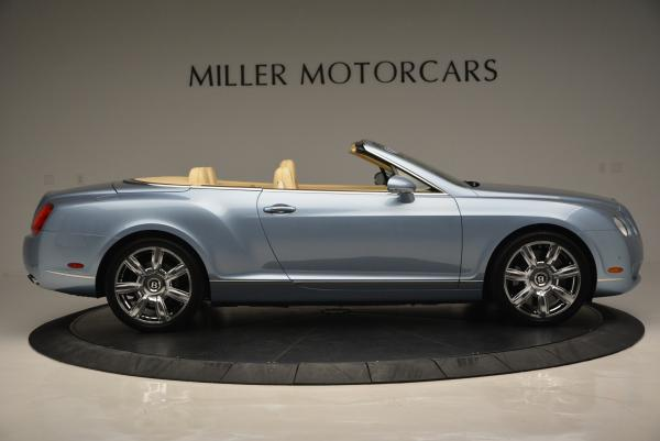 Used 2007 Bentley Continental GTC for sale Sold at Rolls-Royce Motor Cars Greenwich in Greenwich CT 06830 9