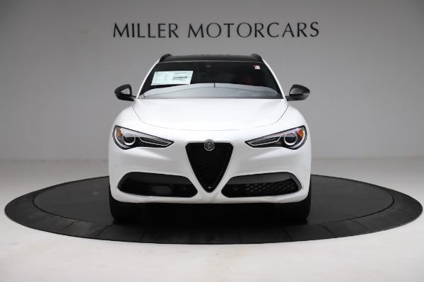 New 2021 Alfa Romeo Stelvio Ti Sport Q4 for sale $56,240 at Rolls-Royce Motor Cars Greenwich in Greenwich CT 06830 12