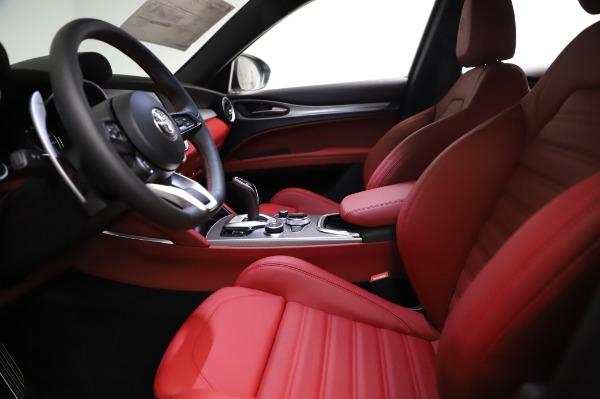 New 2021 Alfa Romeo Stelvio Ti Sport Q4 for sale $56,240 at Rolls-Royce Motor Cars Greenwich in Greenwich CT 06830 14