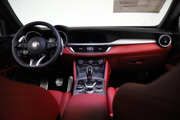 New 2021 Alfa Romeo Stelvio Ti Sport Q4 for sale $56,240 at Rolls-Royce Motor Cars Greenwich in Greenwich CT 06830 16
