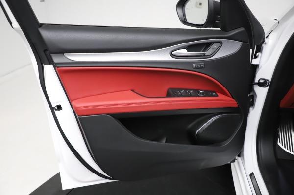 New 2021 Alfa Romeo Stelvio Ti Sport Q4 for sale $56,240 at Rolls-Royce Motor Cars Greenwich in Greenwich CT 06830 17