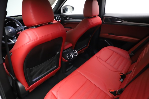 New 2021 Alfa Romeo Stelvio Ti Sport Q4 for sale $56,240 at Rolls-Royce Motor Cars Greenwich in Greenwich CT 06830 18