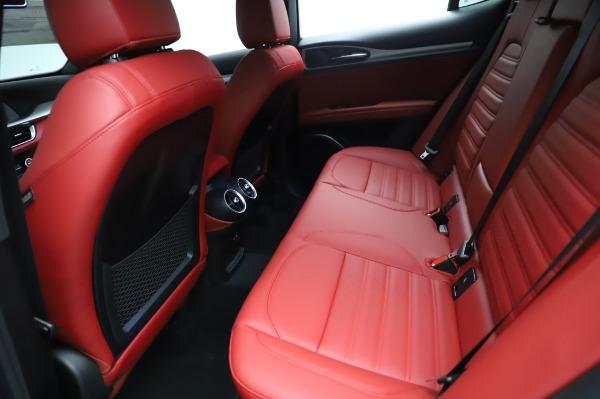New 2021 Alfa Romeo Stelvio Ti Sport Q4 for sale $56,240 at Rolls-Royce Motor Cars Greenwich in Greenwich CT 06830 19