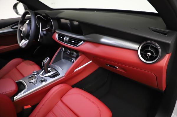 New 2021 Alfa Romeo Stelvio Ti Sport Q4 for sale $56,240 at Rolls-Royce Motor Cars Greenwich in Greenwich CT 06830 22