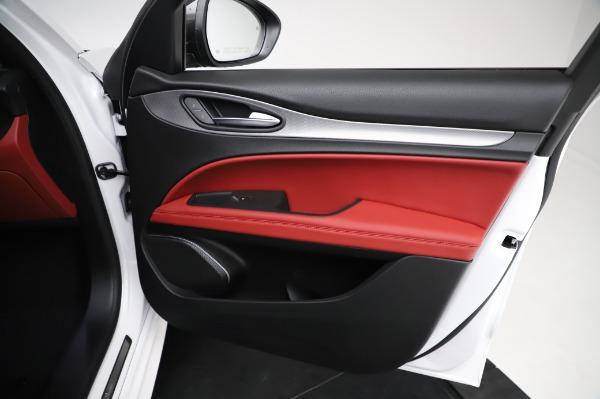 New 2021 Alfa Romeo Stelvio Ti Sport Q4 for sale $56,240 at Rolls-Royce Motor Cars Greenwich in Greenwich CT 06830 24