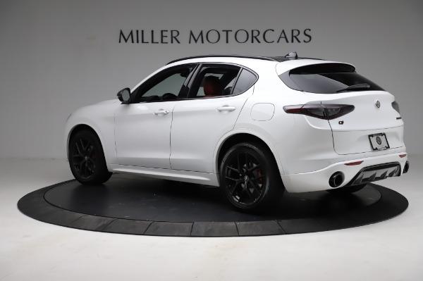 New 2021 Alfa Romeo Stelvio Ti Sport Q4 for sale $56,240 at Rolls-Royce Motor Cars Greenwich in Greenwich CT 06830 4