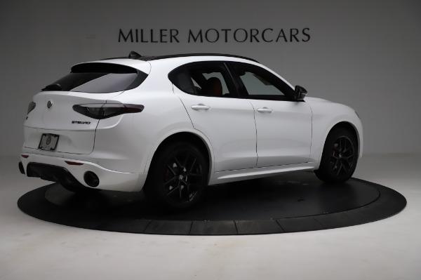 New 2021 Alfa Romeo Stelvio Ti Sport Q4 for sale $56,240 at Rolls-Royce Motor Cars Greenwich in Greenwich CT 06830 8