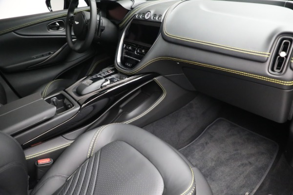 New 2021 Aston Martin DBX for sale $209,686 at Rolls-Royce Motor Cars Greenwich in Greenwich CT 06830 20
