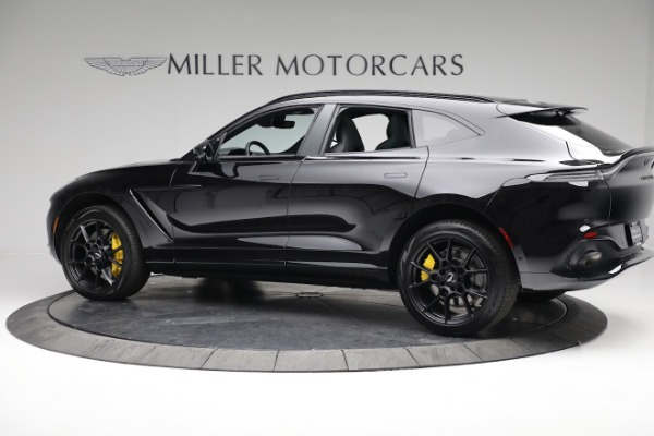 New 2021 Aston Martin DBX for sale $209,686 at Rolls-Royce Motor Cars Greenwich in Greenwich CT 06830 3