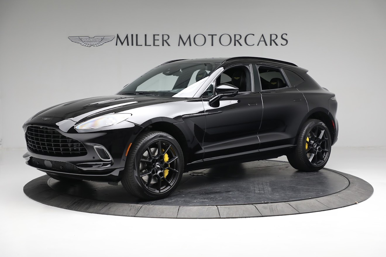 New 2021 Aston Martin DBX for sale $209,686 at Rolls-Royce Motor Cars Greenwich in Greenwich CT 06830 1