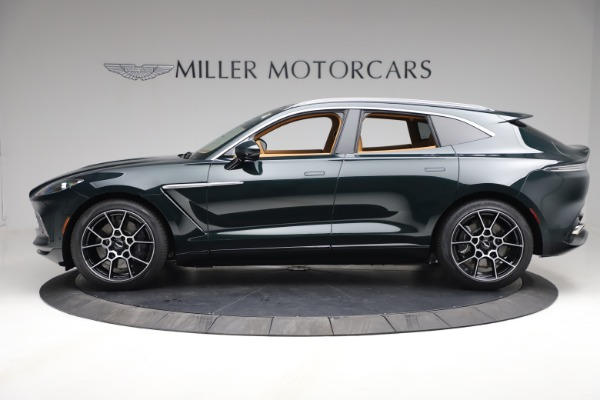 New 2021 Aston Martin DBX for sale $214,986 at Rolls-Royce Motor Cars Greenwich in Greenwich CT 06830 2
